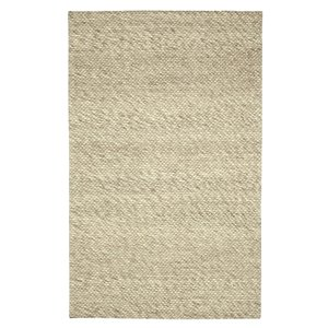 Viana Handmade Modern Chunky Wool Rug - 8-ft 3-in x 10-ft - Ivory