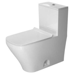 Toilette monopièce Duravit DuraStyle, blanche, siège vendu séparément