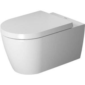 Toilette suspendue Duravit ME par Starck, blanche avec email hygiénique, 14,63 po x 22,5 po