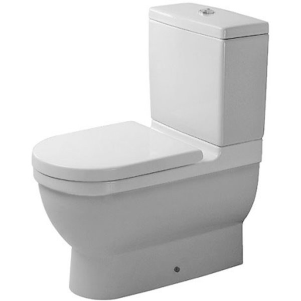 Duravit Starck 3 Toilet Bowl - White - 14.63-in x 26-in