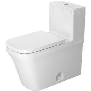 Toilette monopièce Duravit P3 Comforts, blanche, siège vendu séparément