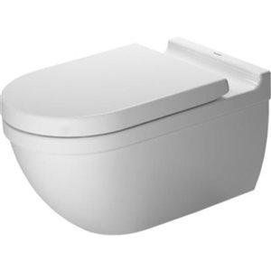 Toilette suspendue Duravit Starck 3, blanche, 14,38 po x 24,38 po