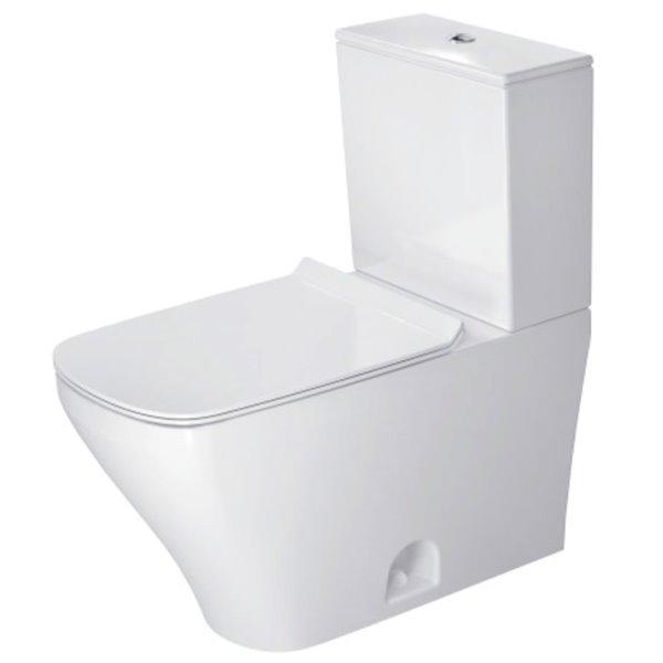Duravit DuraStyle Toilet Bowl - White - 14.63-in x 27.75-in
