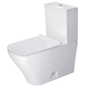 Duravit DuraStyle Toilet Bowl - White - 14.63-in x 27.75-in