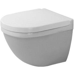 Toilette suspendue Duravit Starck 3, blanche, 14,75 po x 19,13 po