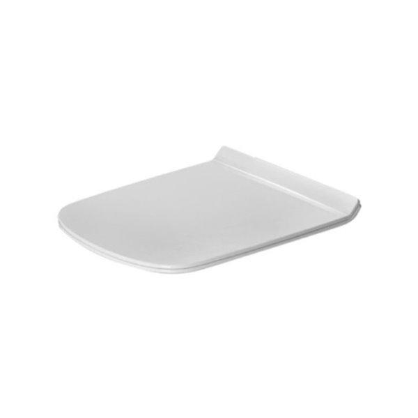 Siège de toilette Duravit DuraStyle, fermeture lente, blanc
