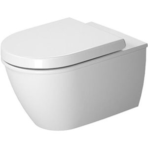 Duravit Darling New Wall-Mounted Toilet - White - 14.38-in x 21.25-in