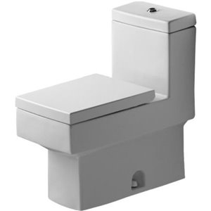 Toilette monopièce Vero de Duravit, blanche, siège vendu séparément