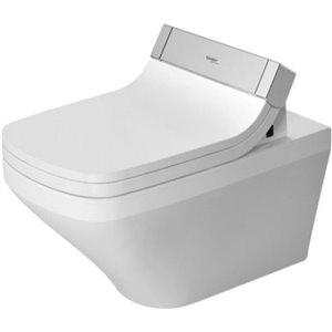 Toilette suspendue Duravit DuraStyle, blanche, 14,75 po x 24,38 po