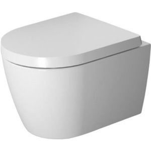 Duravit ME by Starck Wall-Mounted Toilet - White - 14.63-in x 18.88-in