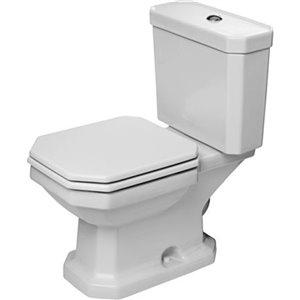 Cuvette de toilette Duravit Série 1930, blanche, 14,13 po x 26,38 po