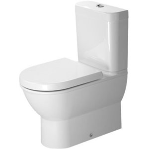 Duravit Darling New Toilet Bowl - White - 14.63-in x 24.75-in