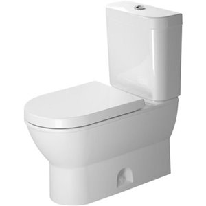 Duravit Darling New Toilet Bowl - White - 14.63-in x 27.75-in