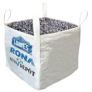 Pierre de criblage calcaire / pierre - 1 verge cube livré