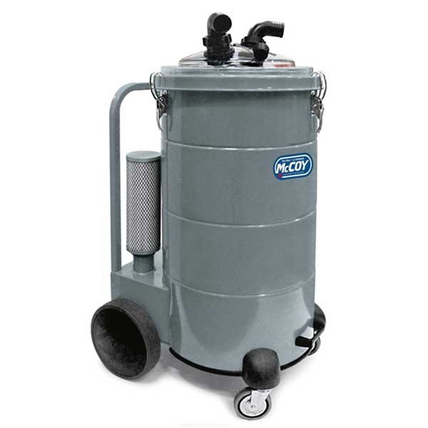 McCoy 100L  3-Motor Dry-Only Heavy-Duty Industrial Vacuum