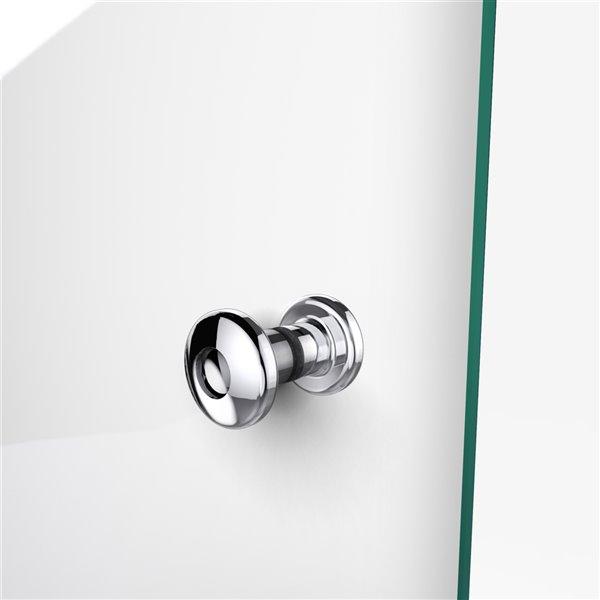 DreamLine Aqua Fold Shower Door Kit - 36-in - Chrome