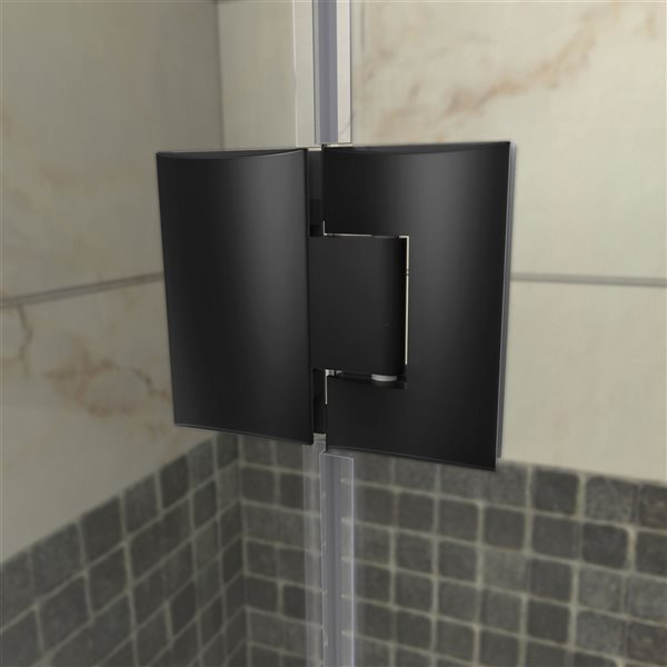 DreamLine Prism Plus Shower Enclosure Kit - 40-in - Black