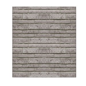 Dundee Deco Peel and Stick 3D Wall Panel - Grey Faux Slate - Pack of 5