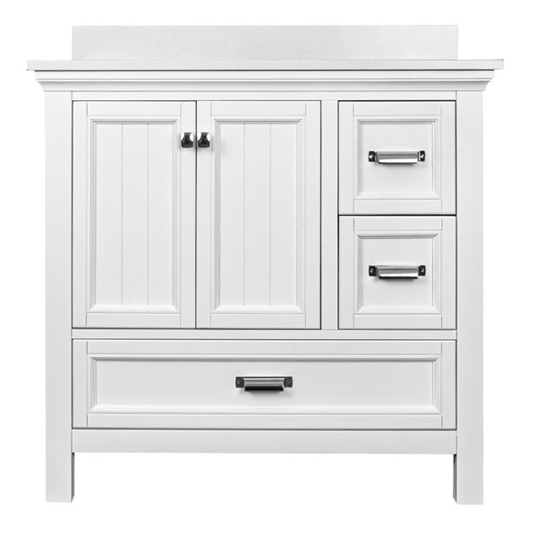 Foremost Brantley Vanity Combo - 36-in - White