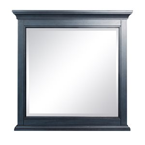 Foremost Brantley Mirror - 32-in x 32-in - Harbor Blue