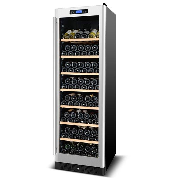 Refroidisseur à vin double zone de KUCHT, 177 bouteilles