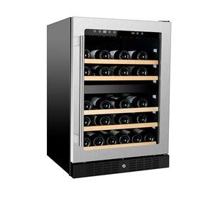 Refroidisseur à vin double zone de KUCHT, 54 bouteilles
