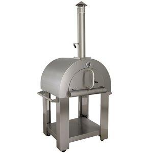 Four à pizza professionnel KUCHT en acier inoxydable