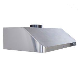 Hotte de cuisine sous cabinet KUCHT de 36 po 900 CFM en acier inoxydable