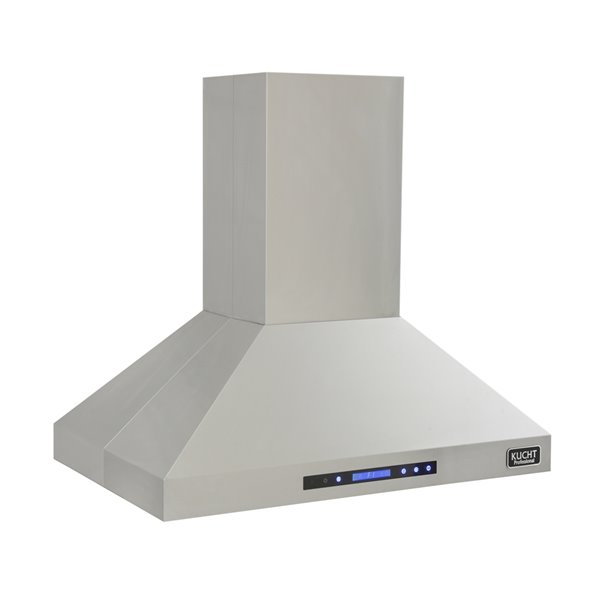 KUCHT 36-in Professional 900CFM Ducted Island Range Hood