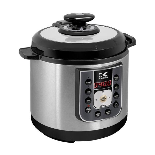 Kalorik 6.25 Quart Perfect Sear Pressure Cooker