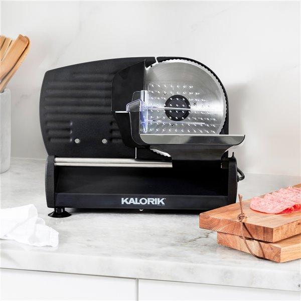 Kalorik 200 Watts Professional Food Slicer - Black