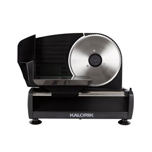 Kalorik 200 Watts Professional Food Slicer - Black