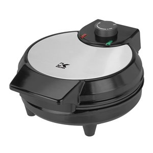 Kalorik Belgian Waffle Maker - Black and Stainless Steel