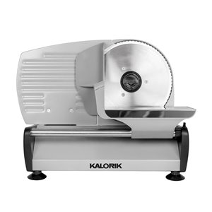 Kalorik 200 Watts Professional Food Slicer - Silver