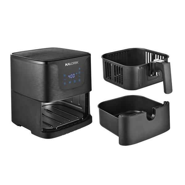 Kalorik 3.5 Qt. Digital Air fryer - Matte Black