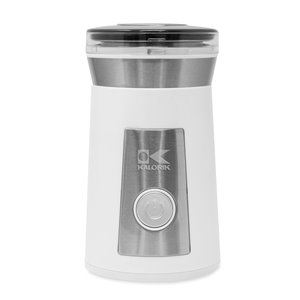 Kalorik Coffee and Spice Grinder - White and Stainless Steel