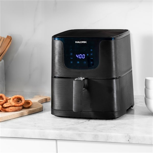 Kalorik 5.3 Qt. Digital Air Fryer XL - Matte Black