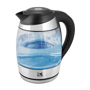 Bouilloire en verre à DEL multicolore Kalorik, 1,8 litre
