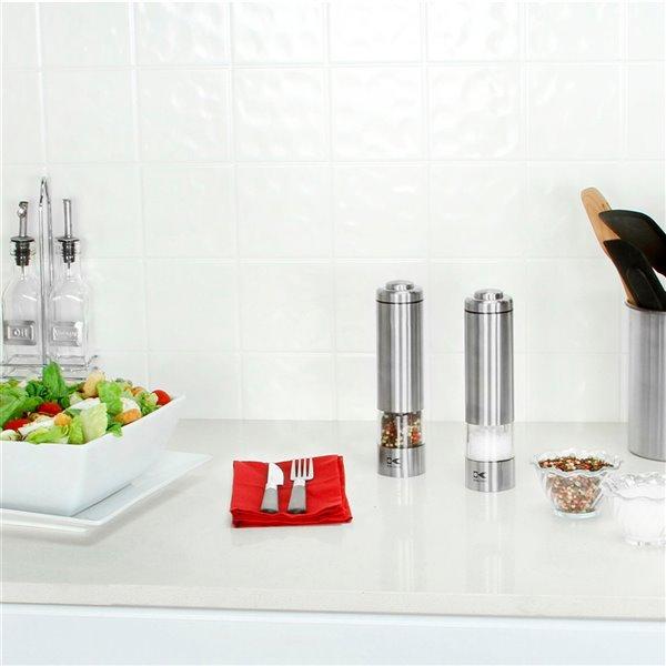 Kalorik Electric Salt and Pepper Grinder Set
