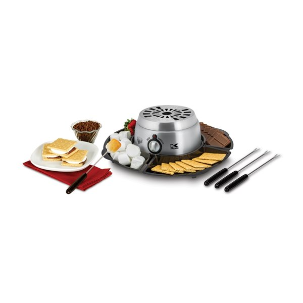 Kalorik 2-in-1 S'mores Maker - Stainless Steel