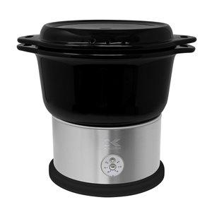 Cuiseur à vapeur Kalorik en céramique, 4,5litres, noir