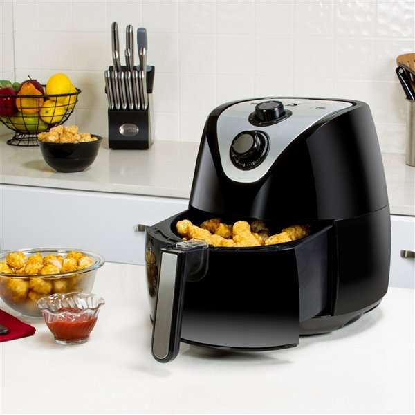 Friteuse à air Eat Smart Kalorik, 1,9 l, noir