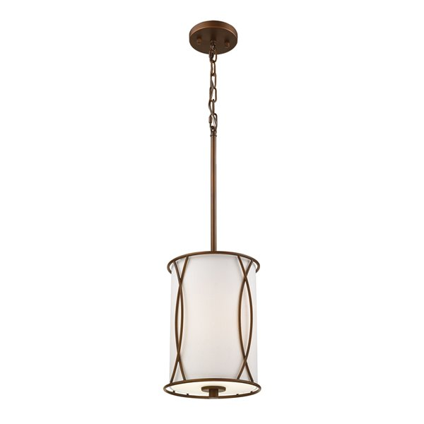 Millennium Lighting 1 Light Mini-Pendant- Oil-Rubbed Bronze