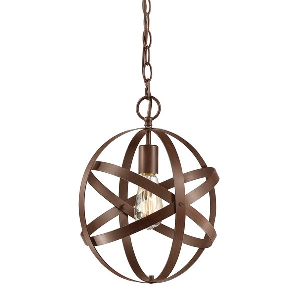Millennium Lighting 1 Light Pendant - Rubbed Bronze