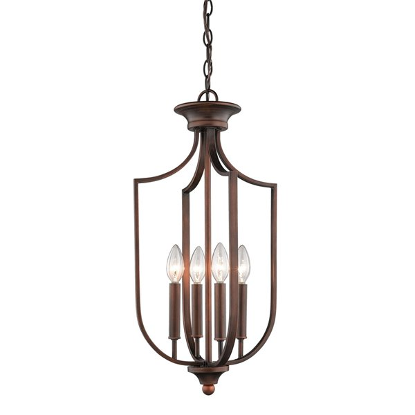 Millennium Lighting 4 Light Pendant - Oil-Rubbed Bronze