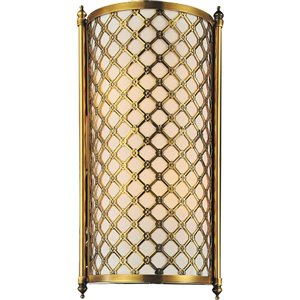 CWI Lighting Gloria 2 Light Wall Sconce - French Gold finish
