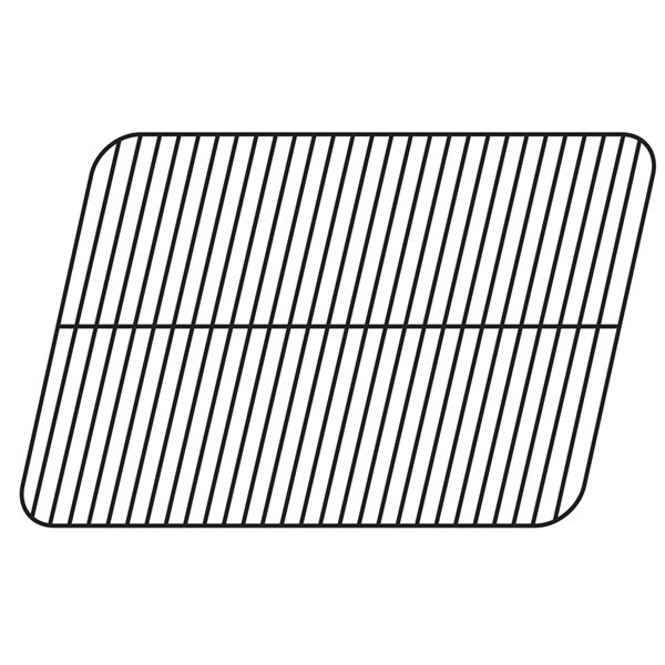 Music Metal City Cooking Grid for Charbroil Gas Grills - 26.56-in - Porcelain-Coated Steel