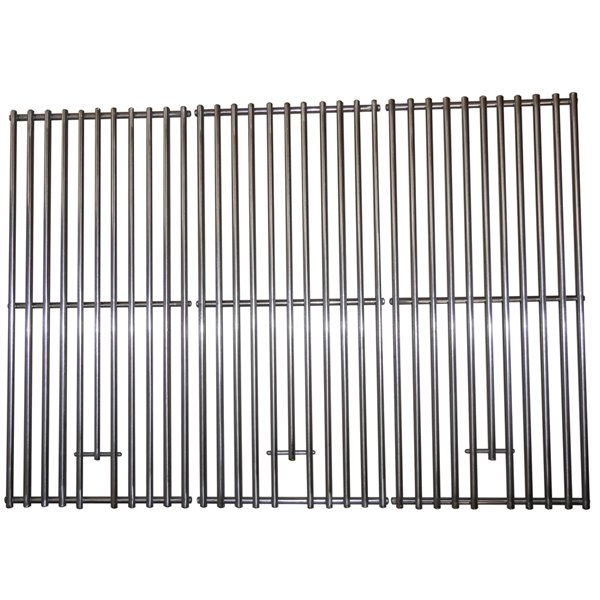 Grille de cuisson de Music City Metals pour barbecue au gaz Kitchen Aid et Nexgrill, 26,63 po, ens. de 3
