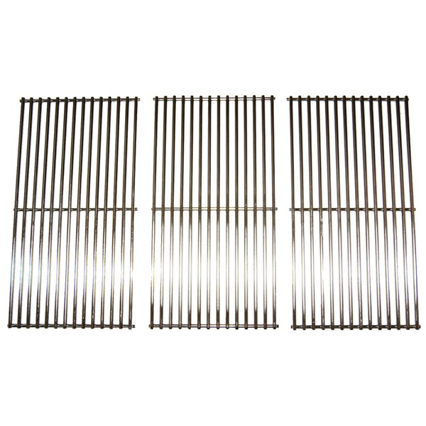 Music Metal City Cooking Grid for Nexgrill Gas Grills - 31.13-in - Stainless Steel - 3-Piece Set