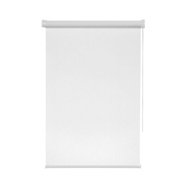 Avanat Solar Roller Shade with Cord - 24-in x 70-in - White